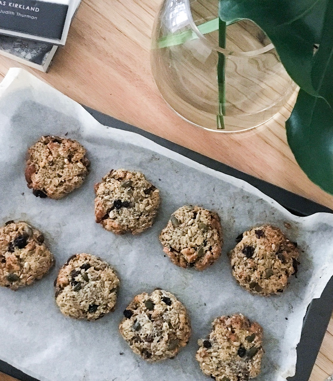 Healthy Muesli Breakfast Cookies