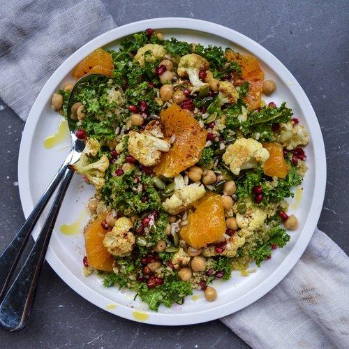 Cauliflower Quinoa & Kale Power Salad