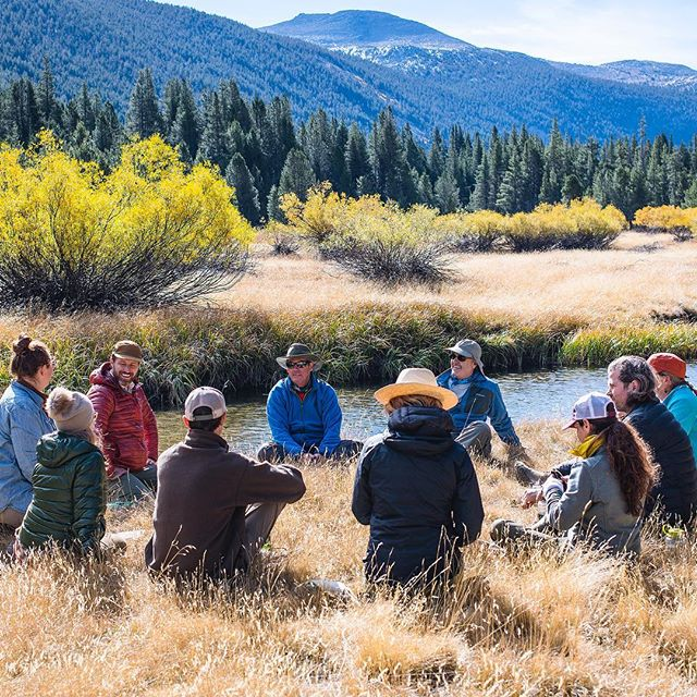 Relational Gestalt Awareness Practice on the trail with @wildtender 📸 @ianmomsen More programs coming up in spring 2019.