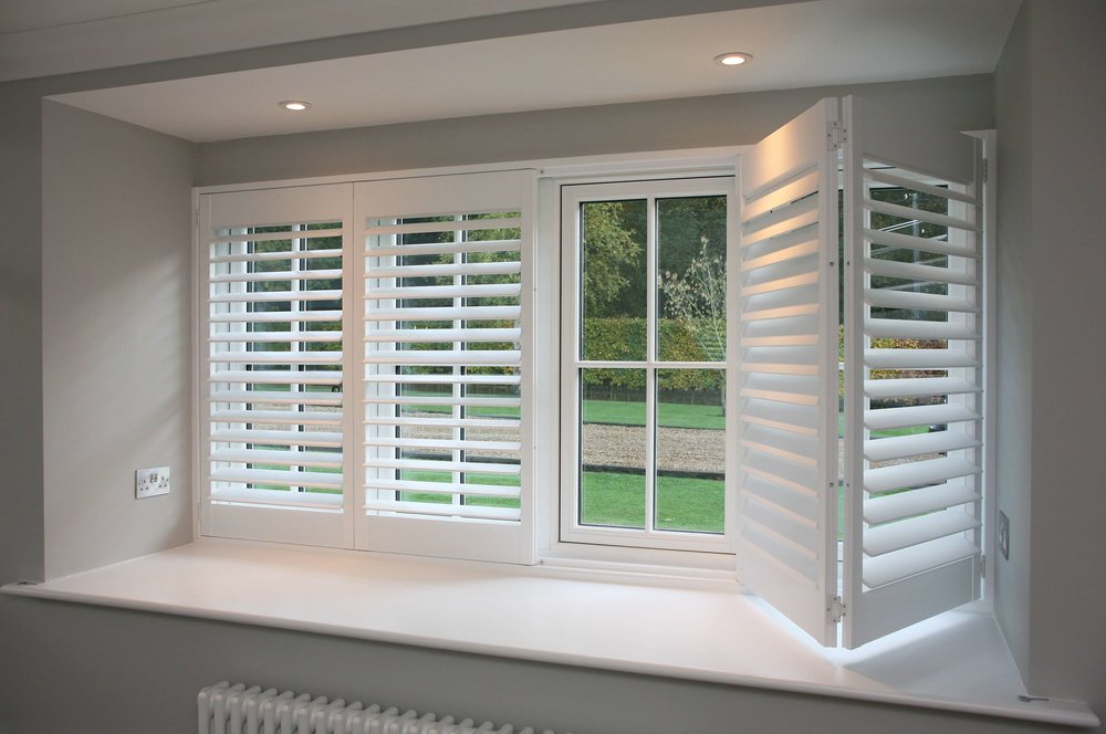 Window Covers - We have multiple options for window cover to accommodate any space in your house including Blinds and Shutters