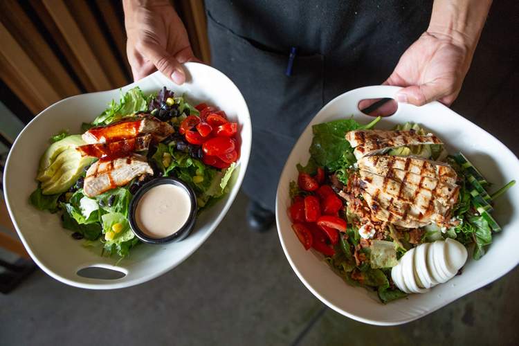 Cobb Salad + Southwest Chicken Salad