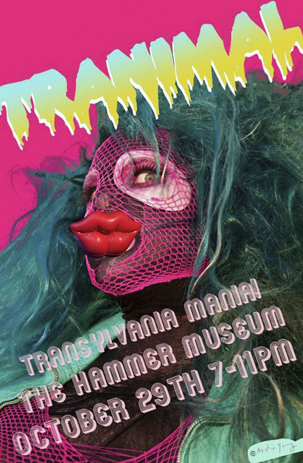 Tranimal Workshop, 2011, at 'Transylvania Mania' curated by Darren Klien at the Hammer Museum