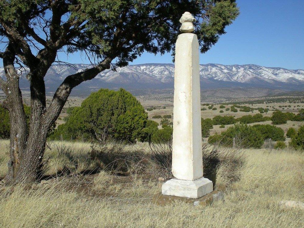 PHOTO: Paul Dowlin's Obelisk