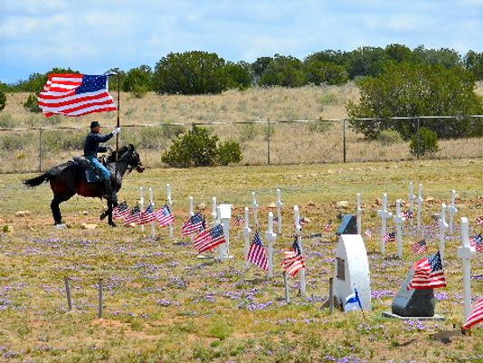 PHOTO: Memorial Day at Fort Stanton Cemetery