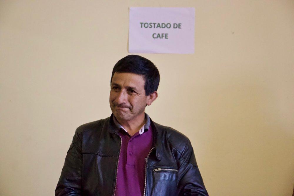 Mario of Cooperativa Agraria Rutas del Inca.