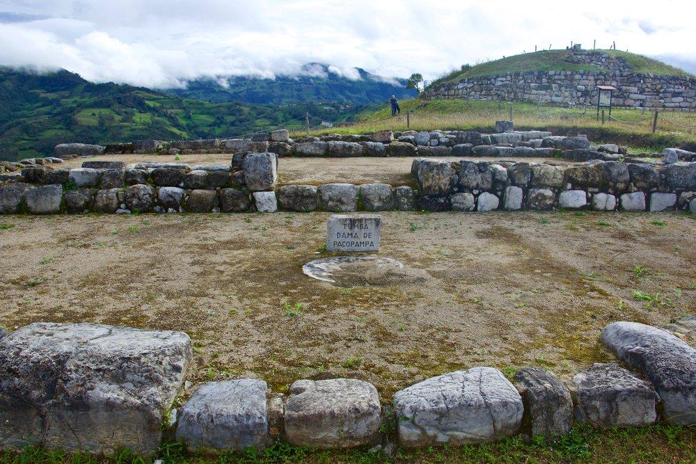 Pacopampa Ruins.
