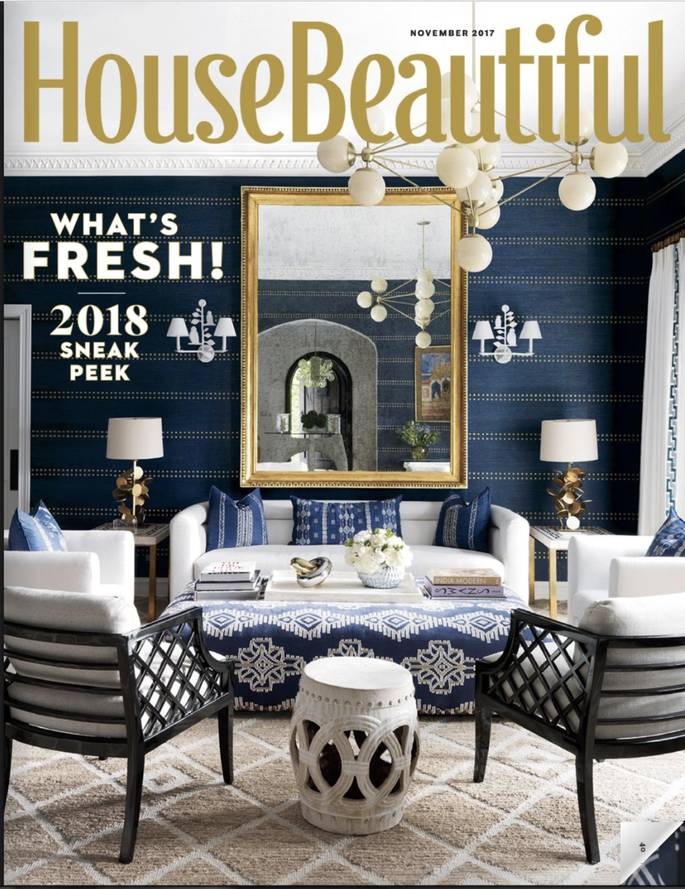 HOUSE BEAUTIFUL // NOV 2017