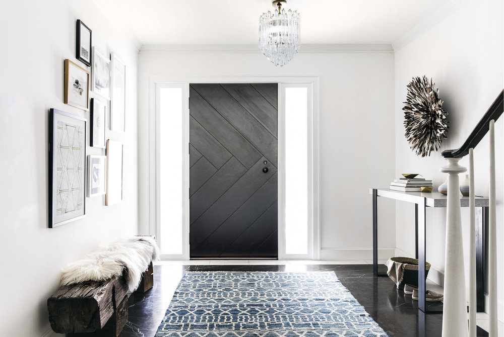 Lauren Nelson Design // Marina Home // Entry