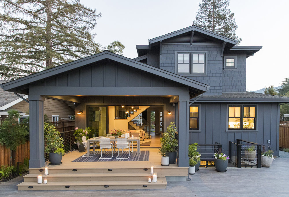 Lauren Nelson Design // Sunset Idea House // Exterior