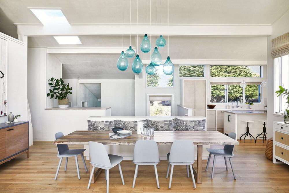Lauren Nelson Design // Stinson Beach House // Dining Room