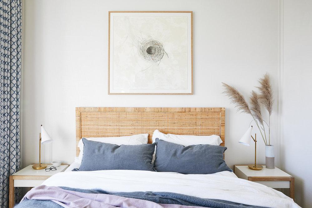 Lauren Nelson Design // Stinson Beach House // Guest Bedroom
