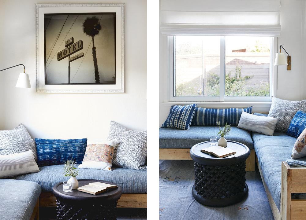 Lauren Nelson Design // Stinson Beach House // Family Room