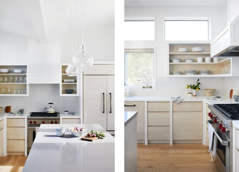 Lauren Nelson Design // Stinson Beach House // Kitchen