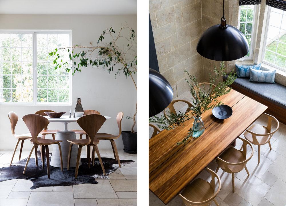 Lauren Nelson Design // Oakland Home // Breakfast Nook & Dining Room