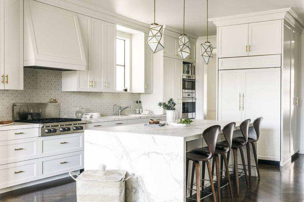 Lauren Nelson Design // Marina Home // Kitchen
