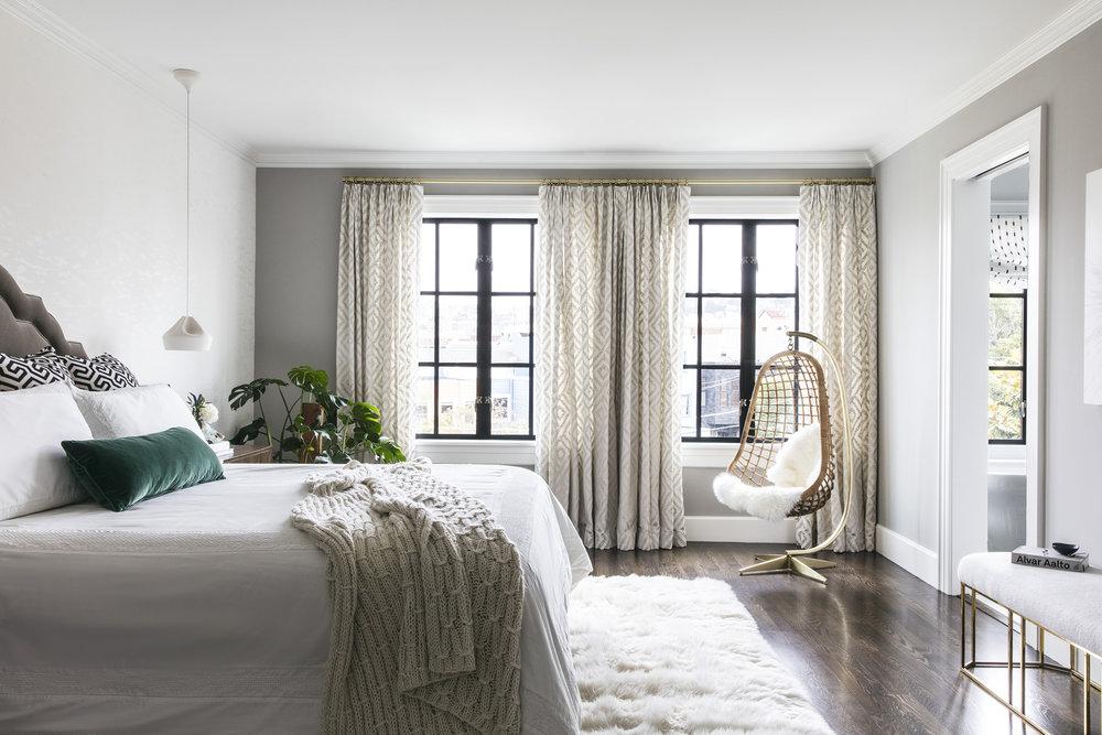 Lauren Nelson Design // Marina Home // Master Bedroom