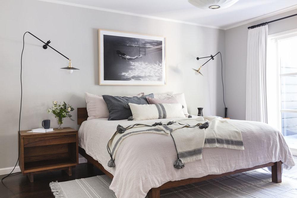 Lauren Nelson Design // Laurel Heights Home // Master Bedroom