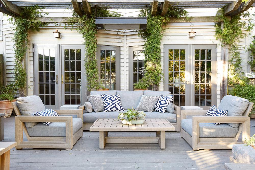 Lauren Nelson Design // California Street Home // Patio