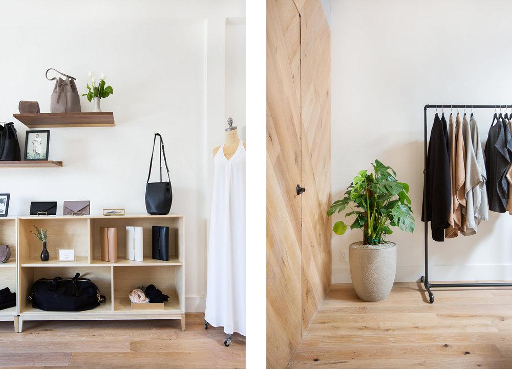 Lauren Nelson Design // Cuyana Venice Showroom