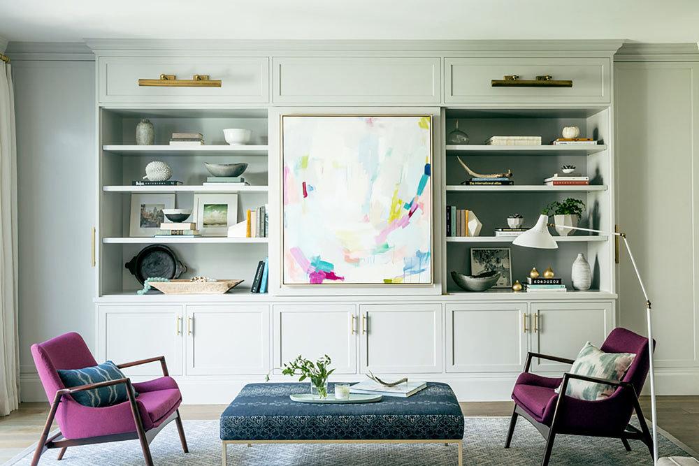 Lauren Nelson Design // San Francisco Home // Living Room