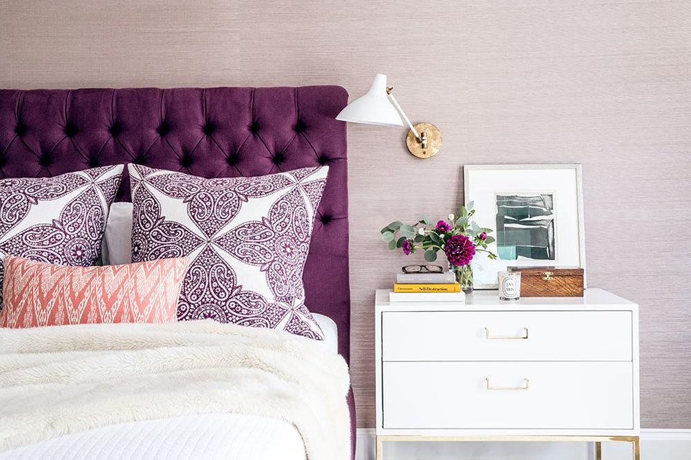 Lauren Nelson Design // San Francisco Home // Master Bedroom