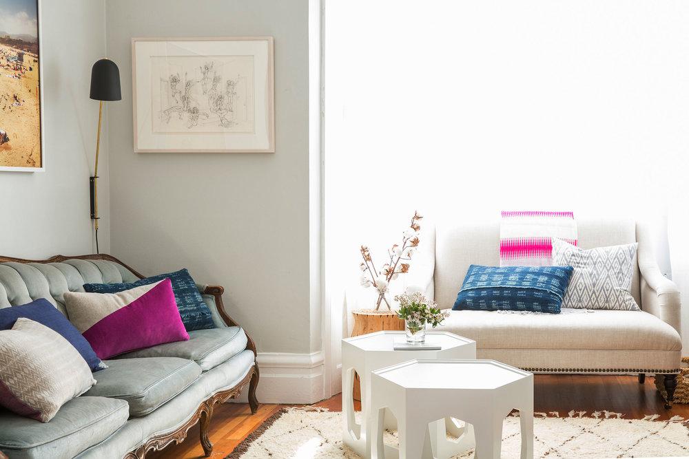 Lauren Nelson Design // Mission Flat // Living Room