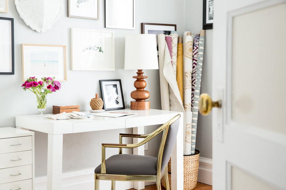 Lauren Nelson Design // Mission Flat // Office