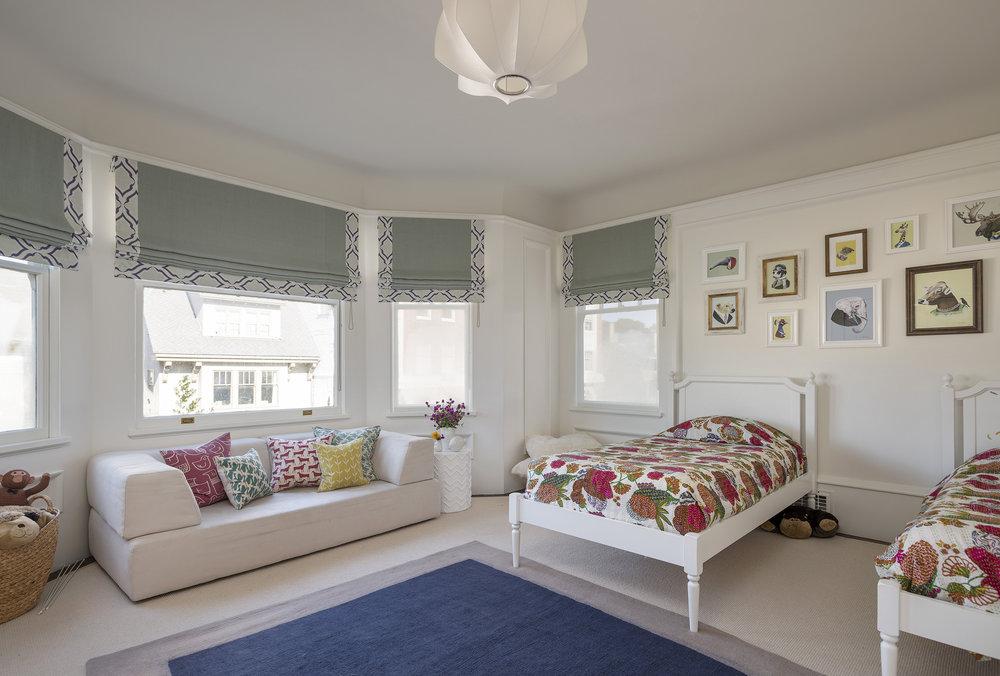Lauren Nelson Design // Presidio Heights Home // Guest Bedroom