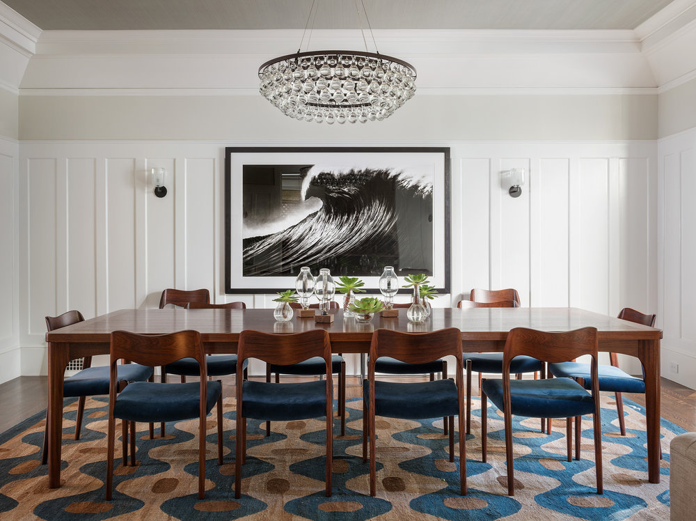 Lauren Nelson Design // Presidio Heights Home // Dining Room