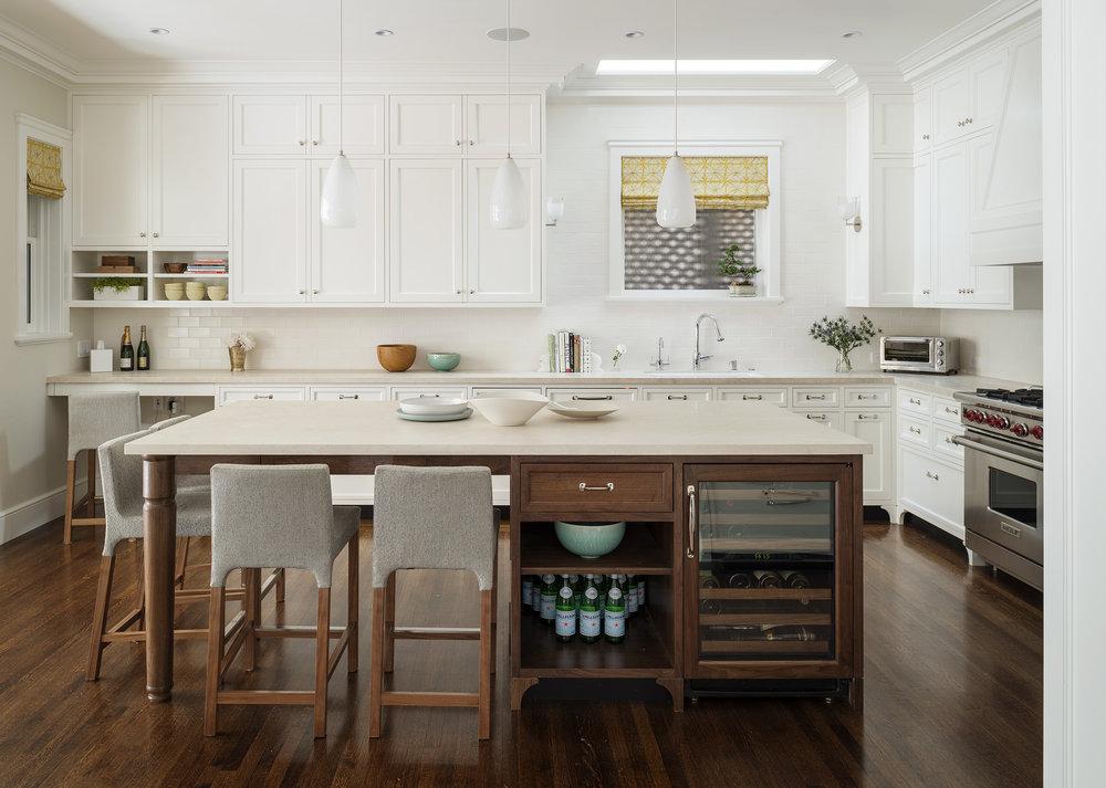 Lauren Nelson Design // Presidio Heights Home // Kitchen