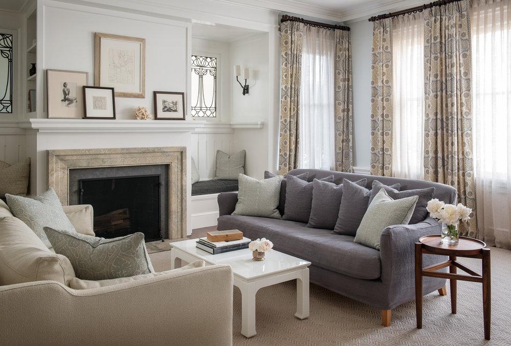 Lauren Nelson Design // Presidio Heights Home // Living Room