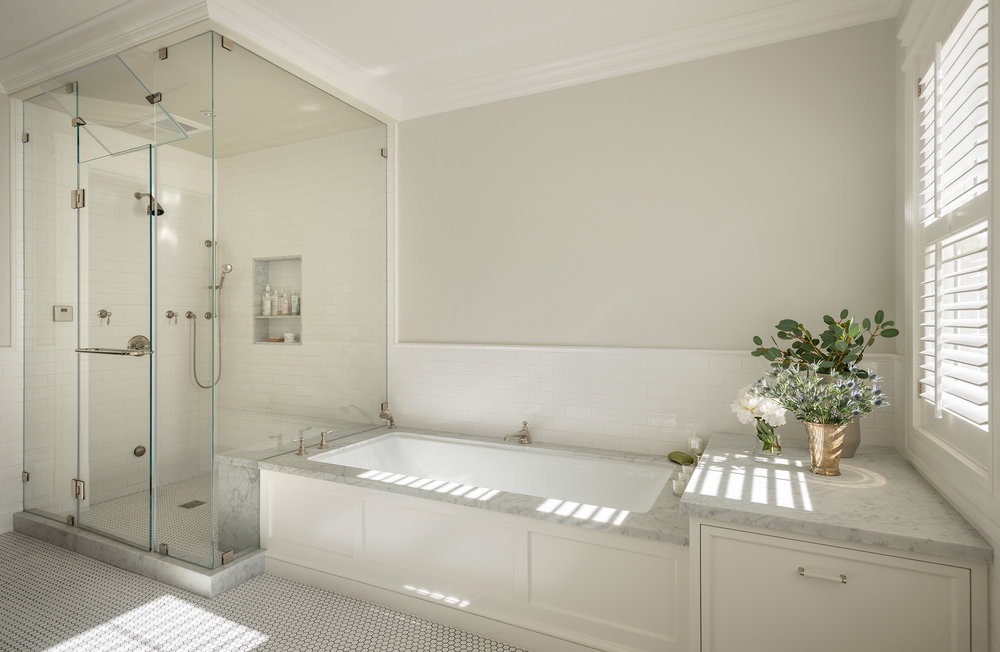 Lauren Nelson Design // Presidio Heights Home // Master Bathroom