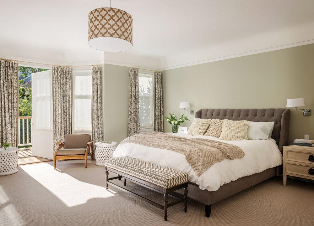 Lauren Nelson Design // Presidio Heights Home // Master Bedroom