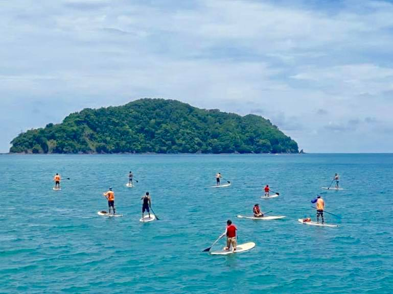 SUP Tour - 2 HRS $60 PER PERSONTour starts at our facilities, with an introduction to SUP by our certified ISA instructors. Then our instructors begin the paddling experience at the bay towards Isla Herradura.Level: For All Levels. Beginner, Intermediate, Advanced.Contact Us