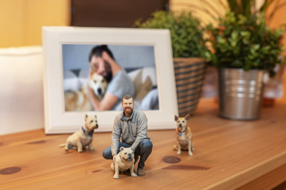 Kids' Milestones 3D Photo Figurines