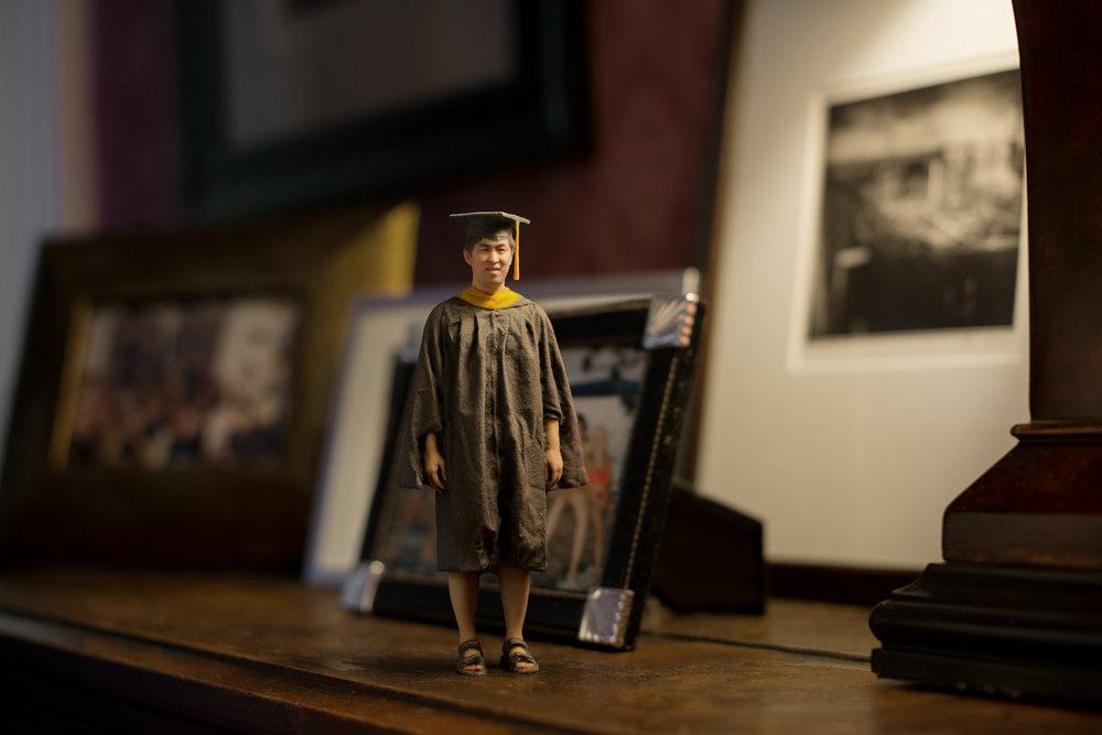 3D photo figurine for newborns
