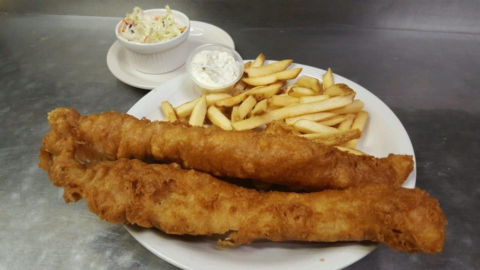 Serving Beer Battered Fish every Friday through Lent!