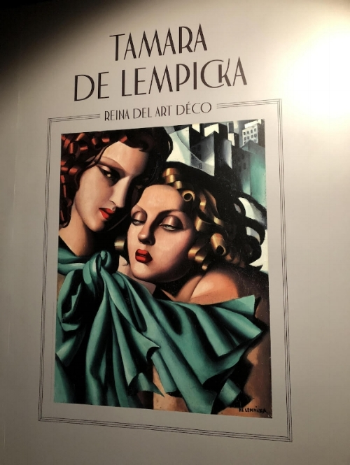 Art Market Liaison recently assisted a client with placing this stunning work by artist Tamara de Lempicka in an important exhibition in Madrid, and secured the work to be featured on the cover of the catalogue.