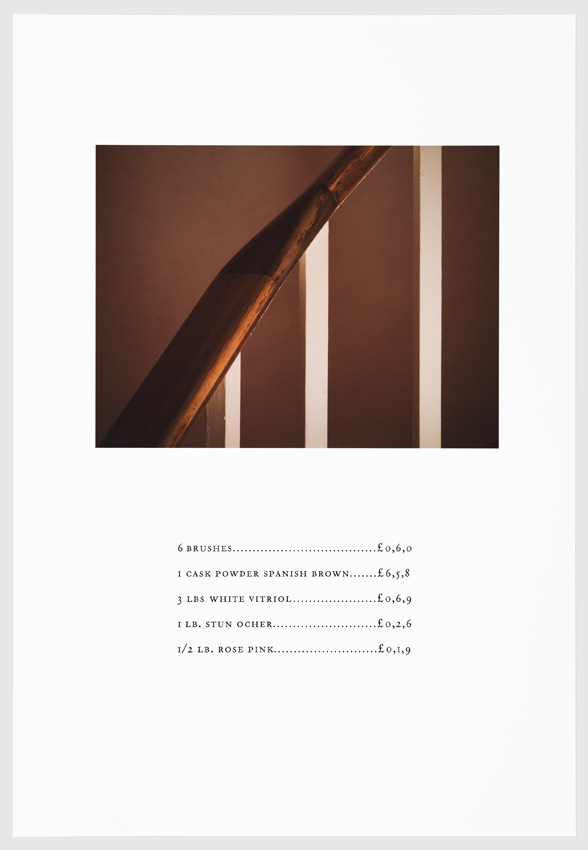"""Vitriol.  Digital Print with letterpress on Hahnemühle. From the series """"We Have Made These Lands What They Are"""". 2016"""