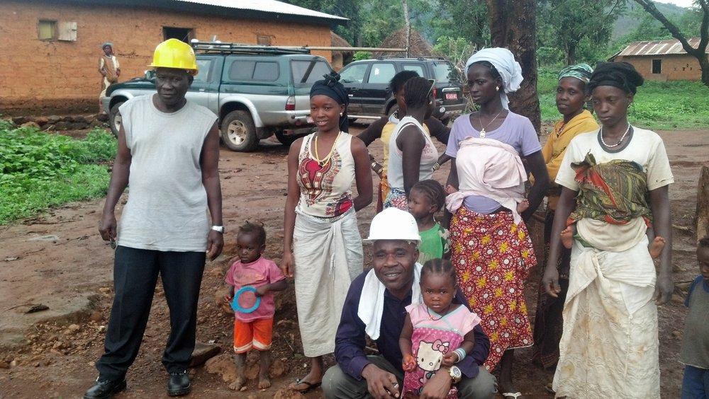 Locals in Guinea