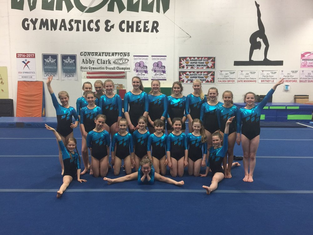 ABOUT … - Evergreen offers a year-round competitive gymnastics program. Team members must commit to a certain minimum number of hours per week based on their level. Evergreen has coached many USAG and H.S. champions. If you are interested in competitive gymnastics, please speak to Jay or Brittany to discuss your level requirements and opportunities for team placement. Please e-mail us at evergreengymnastics@gmail.com.