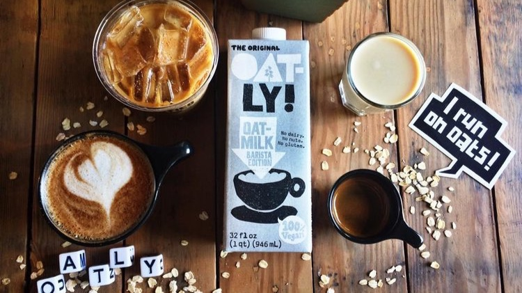 Looking for a milk substitute? Try Oatly!