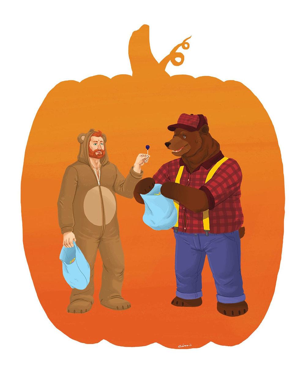 Bear-o-ween