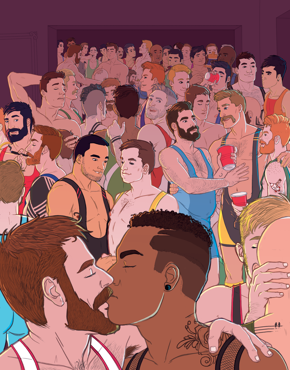 """""""All The Singlet Gays"""""""