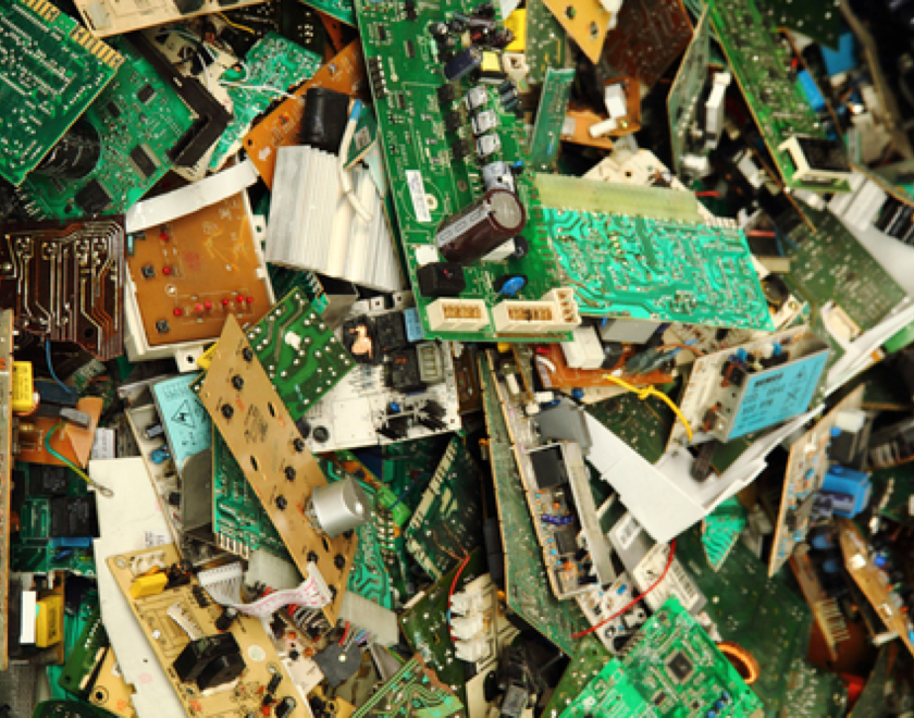 Electronic Waste - The precision of AMP Cortex lends itself perfectly to the recovery requirements of electronic waste (e-waste). Cortex can identity, sort, and pick the smallest pieces of material to maximize the value recovered from material streams. Cortex can target and process a wide array of precious metals, components, plastics, and more.