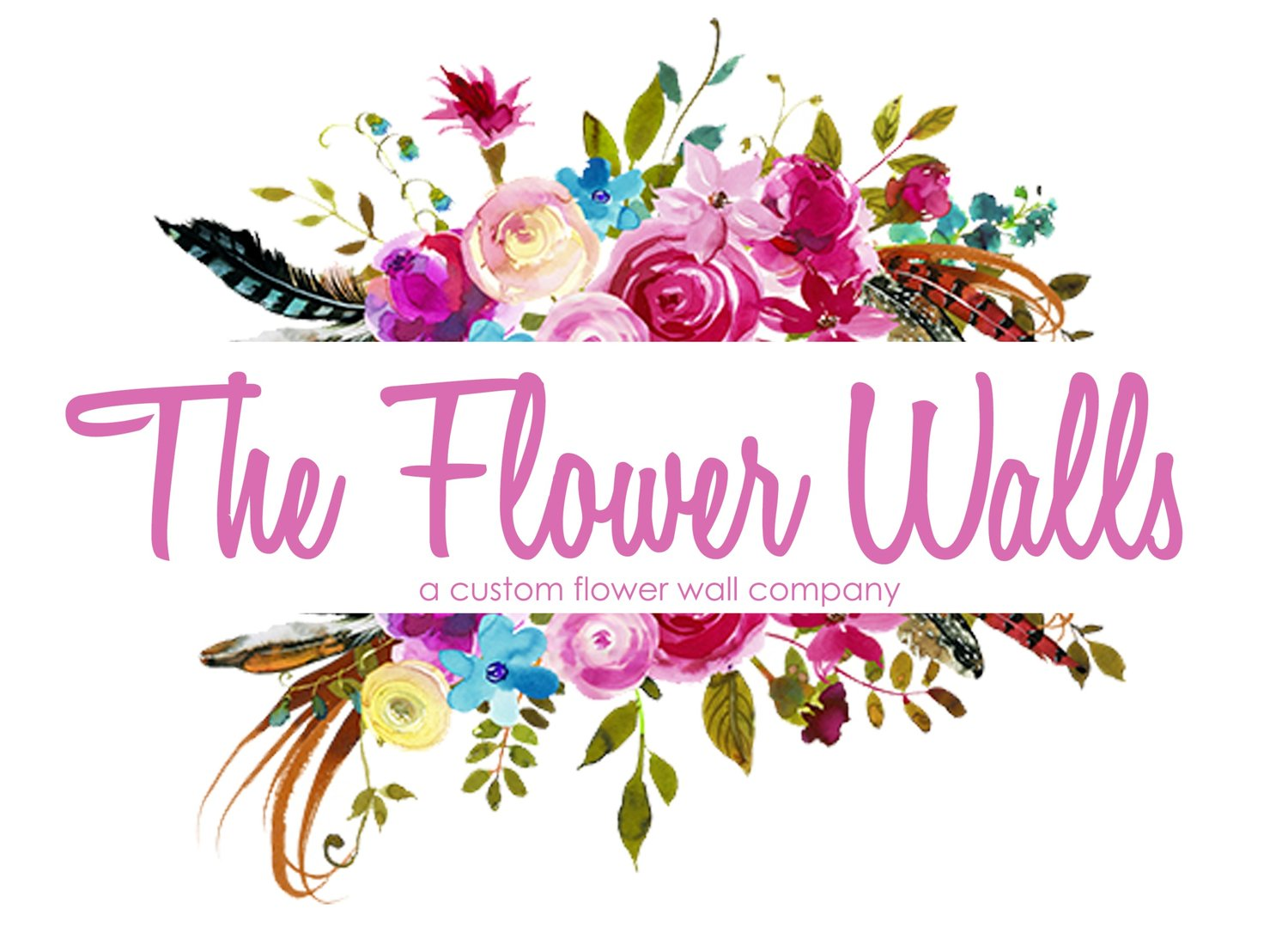 The Flower Walls - Silk Flower Walls
