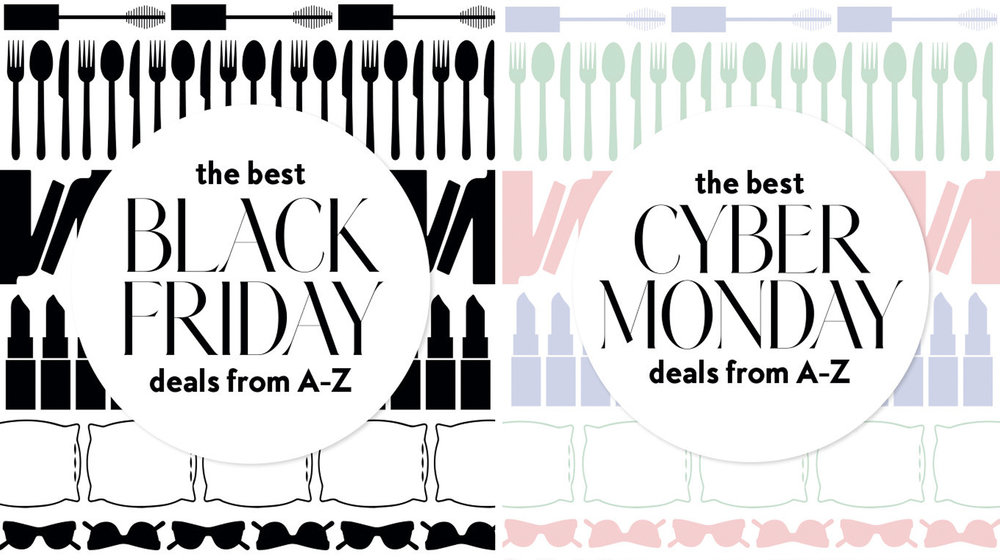 Cyber Monday and Black Friday Shopping - InStyle.com, November 2017illustration by Mariya Ivankovitser