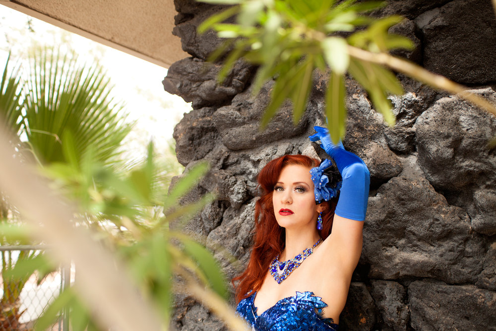 """Francine """"The Lucid Dream"""" in Las Vegas - photo by Bettina May"""