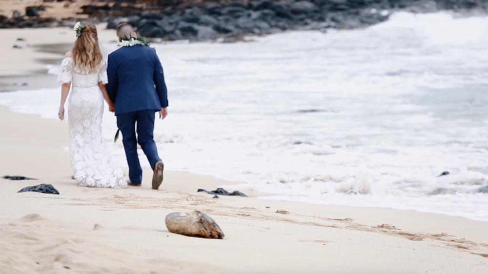 Hawaii beach wedding location