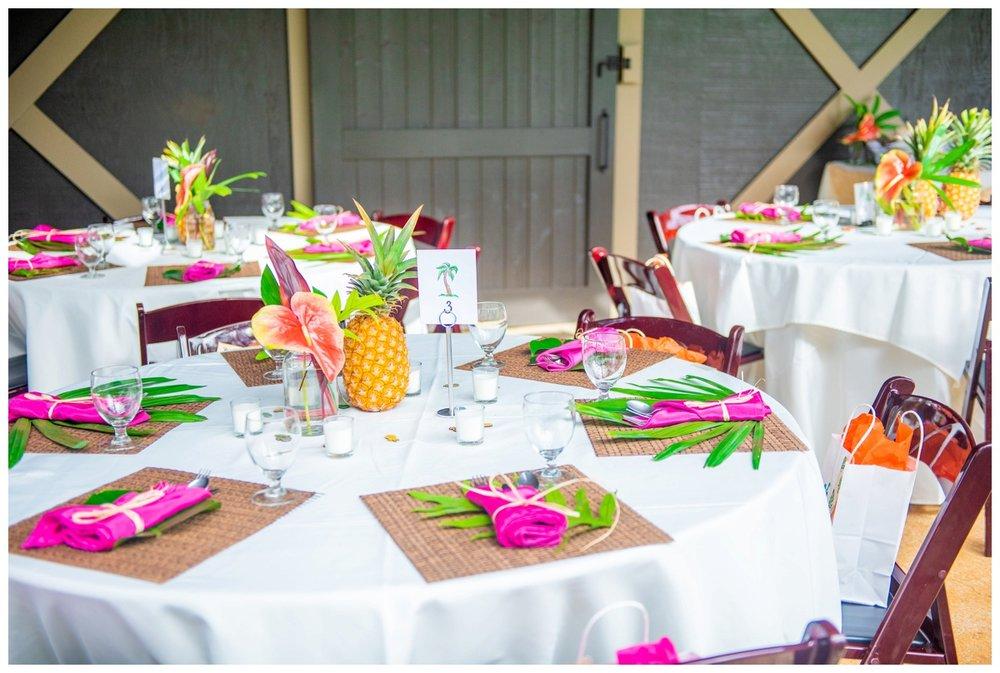 Kauai Wedding Coordinator // tropical decor